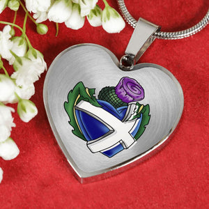Scotland - Thistle Always In My Heart Jewelry N1 Jewelries