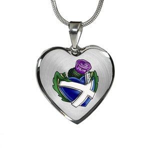 SCOTLAND - THISTLE ALWAYS IN MY HEART JEWELRY N1