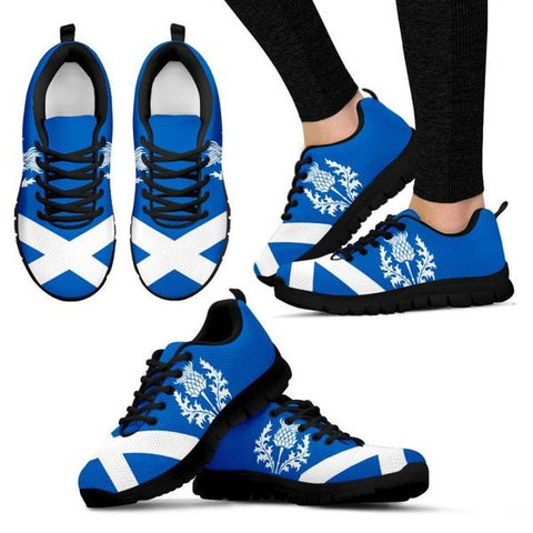 Image of Scotland Thistle Men's / Women's Sneakers (Shoes) Nn8 | 1sttheworld.com