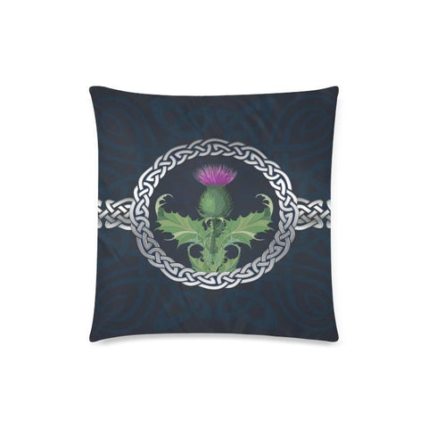Scotland Thistle Zippered Pillow H5 One Size / Case D5 Custom Zippered Pillow Case 18X18(Twin Sides)