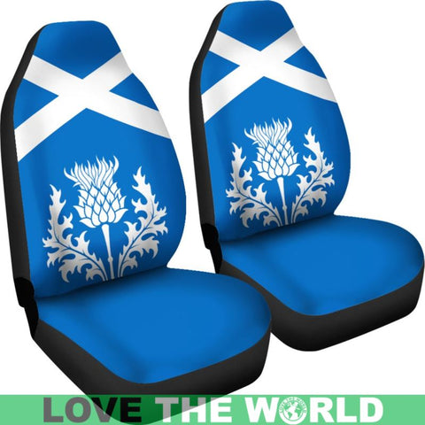 Scotland Thistles Car Seat Covers Ha8