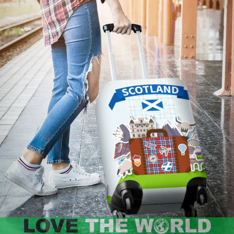Scotland Travel Luggage Cover F7 Covers
