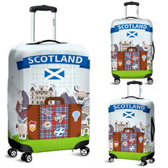 SCOTLAND TRAVEL LUGGAGE COVER F7