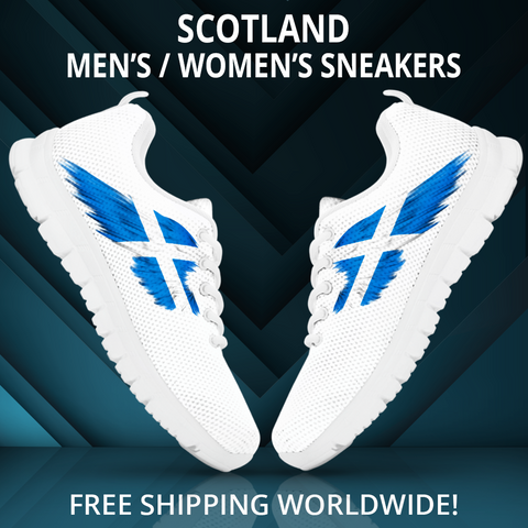 Scotland (Men'S/Women'S) Black Sneaker A9