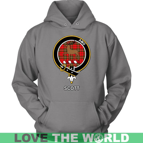 Image of Scott Clan Tartan Shirt A2 Gildan Long Sleeve Tee / Black S T-Shirts
