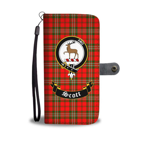 Tartan Wallet Case - Scott Clan | Scottish Wallet Case | 1sttheworld