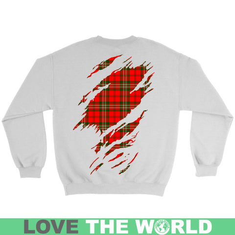 Image of Scott Tartan Shirt And Tartan Hoodie In Me