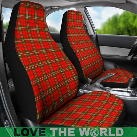 Scott Modern Tartan Car Seat Cover Nl25