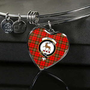 Scott Modern Tartan Silver Bangle - Sd1 Luxury Bangle (Silver) Jewelries