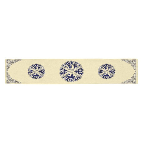 Scottish Lion Table Runner - Ro7 One Size / 123123 Table Runner 14X72 Inch Runners