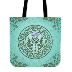 SCOTTISH THISTLE 01 TOTE BAG H4