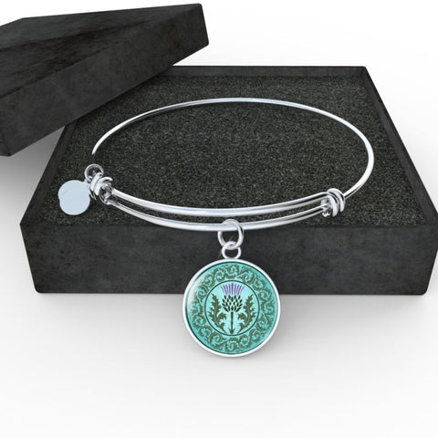 Scottish Thistle Skillful Bangle