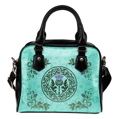 SCOTTIST THISTLE SHOULDER HANDBAG H4