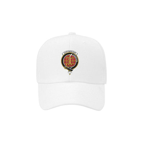 Scrymgeour Clan Tartan Dad Cap  - Love The World