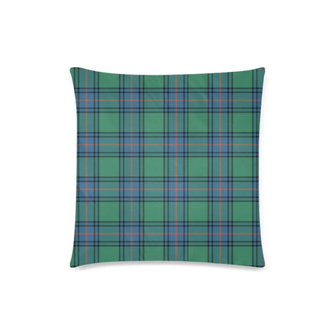 Shaw Ancient Tartan Pillow Cases Hj4 One Size / Shaw Ancient Back Custom Zippered Pillow Case