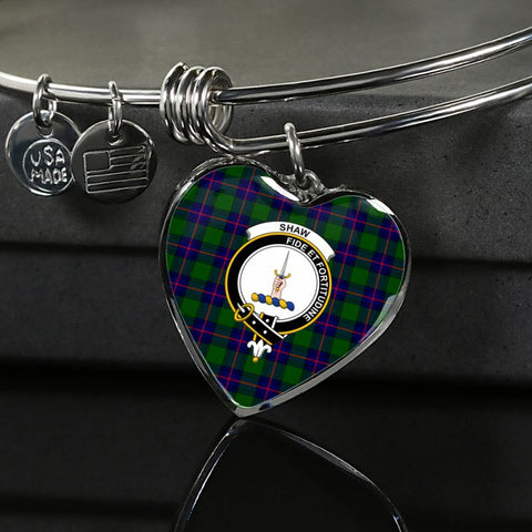 Image of Shaw Modern Tartan Silver Bangle - Sd1 Luxury Bangle (Silver) Jewelries
