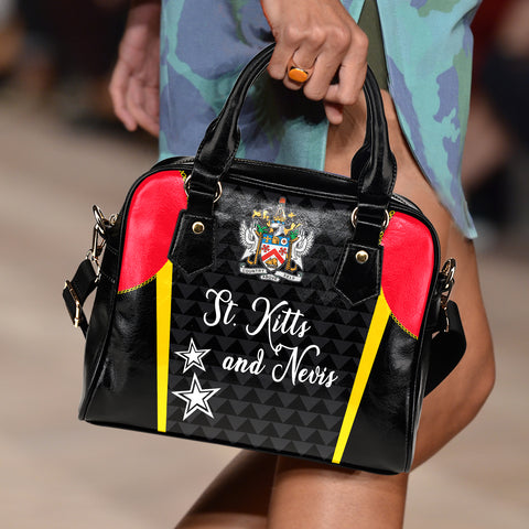 Image of Saint Kitts and Nevis Shoulder Handbag Exclusive Edition K4