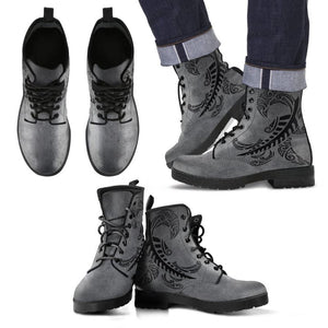 Silver Fern Boots 22 Mens Leather Boots - Black / Us5 (Eu38)