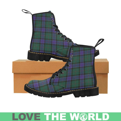 Sinclair Hunting Modern Tartan Martin Boots | Scotland Boots | Over 500 Tartans