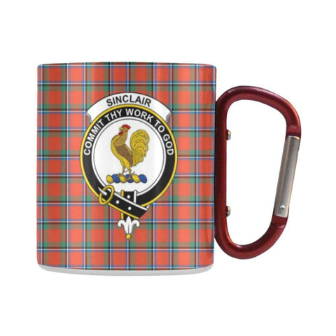 Image of Tartan Mug - Clan Sinclair Tartan Insulated Mug A9 | Love The World