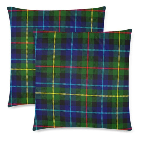 Smith Modern Tartan Pillow Cases Hj4 One Size / Smith Modern Back Custom Zippered Pillow Cases 18X