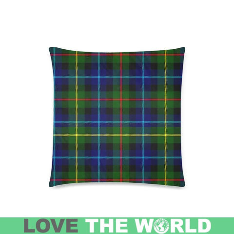 Image of Smith Modern Tartan Pillow Cases Hj4 One Size / Smith Modern Back Custom Zippered Pillow Cases 18X