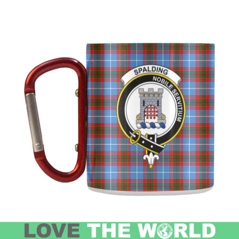 Tartan Mug - Clan Spalding Tartan Insulated Mug A9 | Love The World