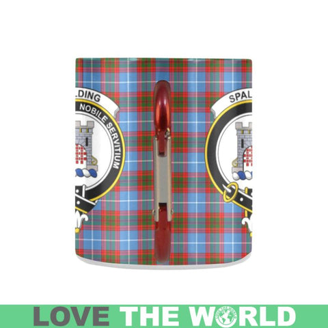 Image of Tartan Mug - Clan Spalding Tartan Insulated Mug A9 | Love The World