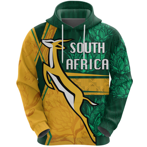 South Africa Hoodie Springboks Rugby Be Fancy