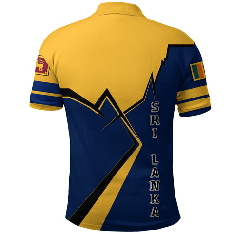 Sri Lanka Polo Shirt Lightning A02