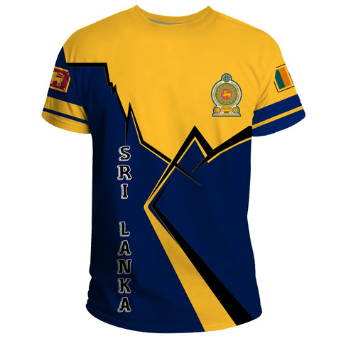 Sri Lanka T-Shirt Lightning A02