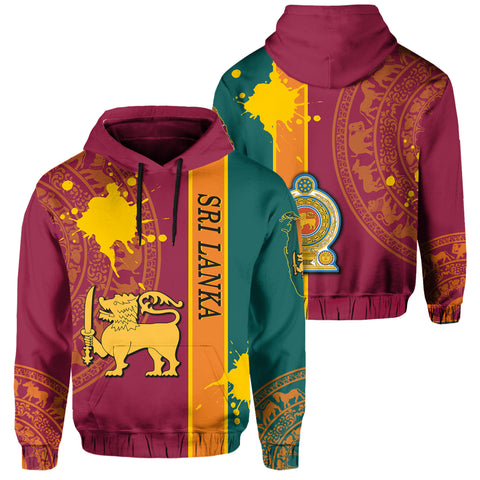 Image of Sri Lanka Spirit Pullover Hoodie | Clothing | 1sttheworld.com