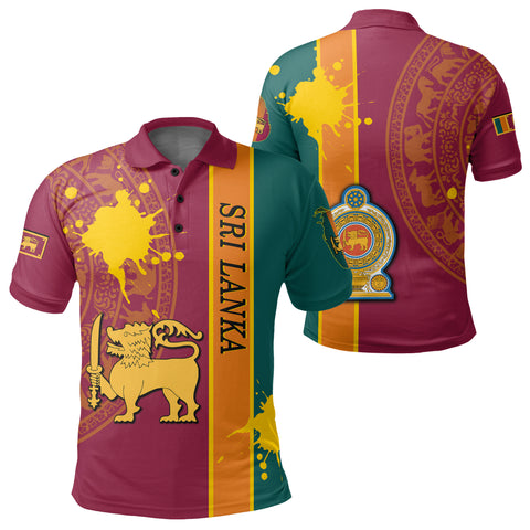 Sri Lanka Spirit Polo Shirt | Clothing | 1sttheworld.com