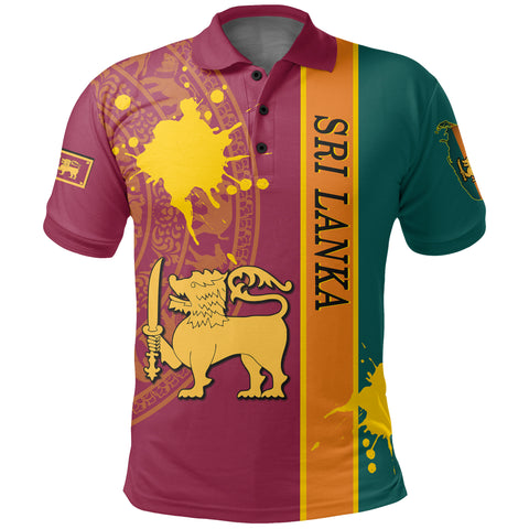 Sri Lanka Spirit Polo Shirt | 1sttheworld.com