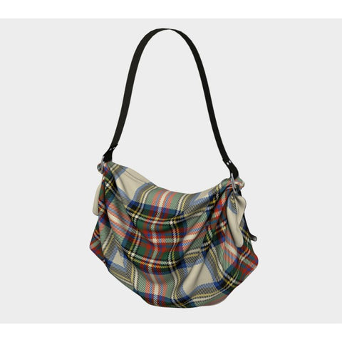 Image of Stewart Dress Ancient Tartan Origami Tote H5 Bags