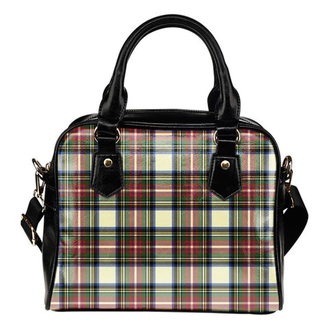 Tartan Shoulder Handbag - Stewart Dress Ancient