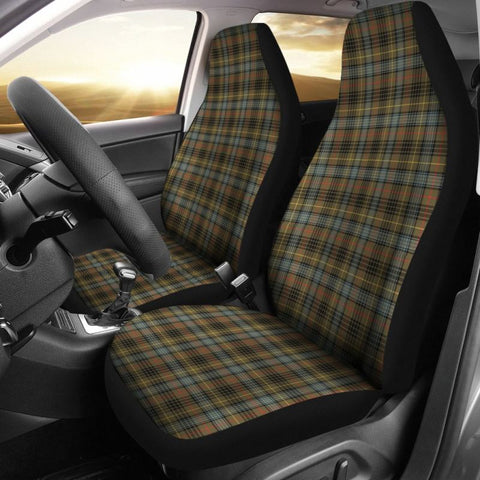 Stewart Hunting Weathered Tartan Car Seat Cover
