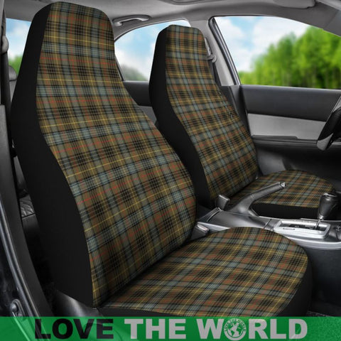 Stewart Hunting Weathered Tartan Car Seat Cover Nl25