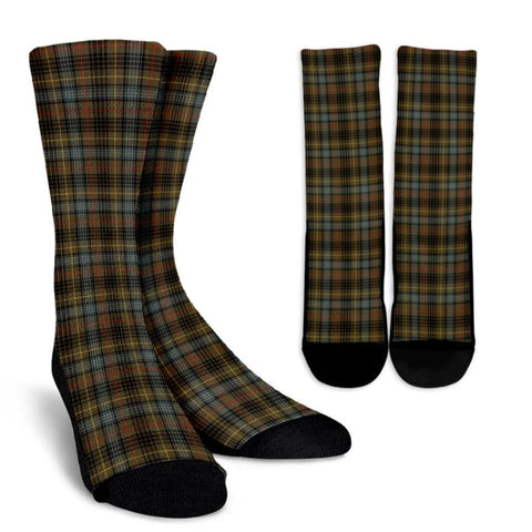 Stewart Hunting Weathered Tartan Socks, scotland socks, scottish socks, Xmas, Christmas, Gift Christmas, noel, christmas gift, tartan socks, clan socks, crew socks, warm socks