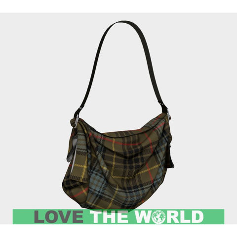 Image of Stewart Hunting Weathered Tartan Origami Tote H5 Bags