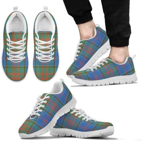 Stewart Of Appin Hunting Ancient Tartan Sneakers - Bn Mens Sneakers White Stewart Of Appin Hunting