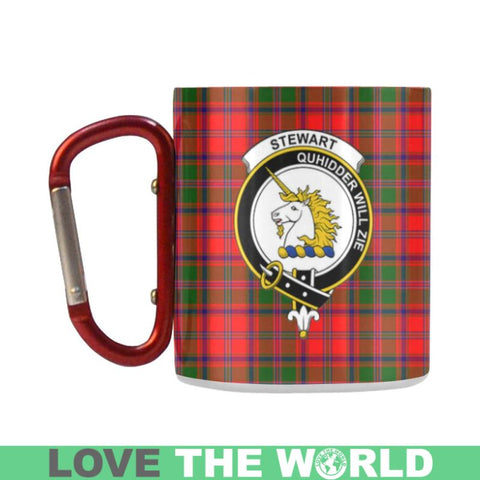 Tartan Mug - Clan Stewart (Of Appin) Tartan Insulated Mug A9 | Love The World