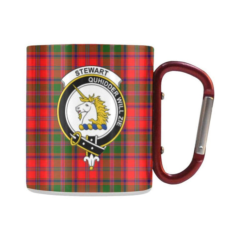 Image of Tartan Mug - Clan Stewart (Of Appin) Tartan Insulated Mug A9 | Love The World