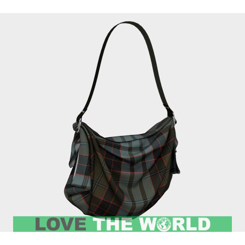 Image of Stewart Old Weathered Tartan Origami Tote H5 Bags