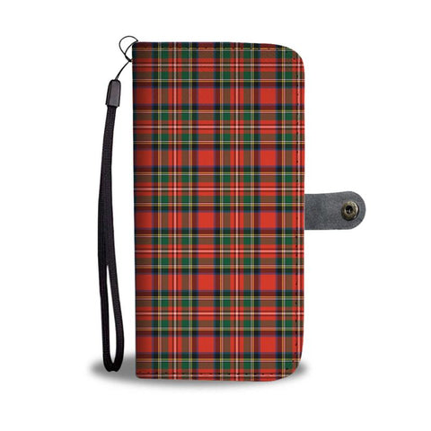 Image of Tartan Wallet Case - Stewart Royal Modern | Scottish Wallet Case | 1sttheworld
