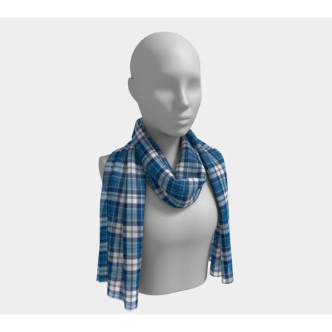 Tartan Long Scarf - Strathclyde District