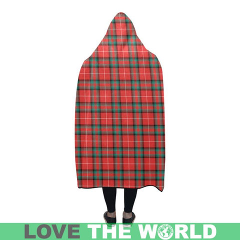Stuart Of Bute Tartan Hooded Blanket - Bn | Love The World