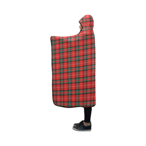 Image of Stuart Of Bute Tartan Hooded Blanket - Bn | Love The World