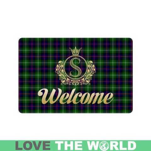 Sutherland Modern Doormat Tartan Doormat HJ4 |Home Set| Love The World