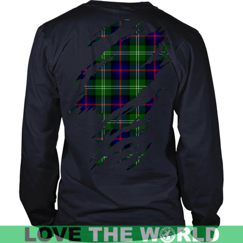 Image of Sutherland Modern Tartan Shirt And Tartan Hoodie In Me